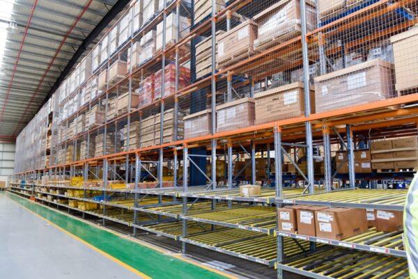commercial Carton Live Pallet Racks